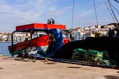 Navi sulla baia dei pescatori di Yalova Turchia Immagini Stock Libere da Diritti