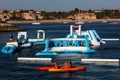 Navibordo Wodni sporty w Portimao Zdjęcie Royalty Free