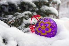Navidad-árbol. Fotografía de archivo libre de regalías