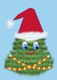 Navidad-árbol de la alegría Imagen de archivo