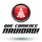 Navidad Ла comience Que - позвольте рождеству начать пядь Стоковые Фотографии RF