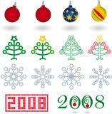 Navidad 01 (vector) Stock Photo