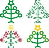 Navidad 01 (vetor) Foto de Stock Royalty Free