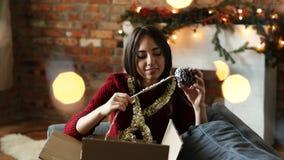 Navidad almacen de video