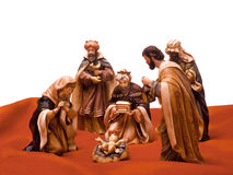 Navidad_a35d9727. Nativity scene, Jesus, Mary, Joseph and the Three Wise Men royalty free stock images
