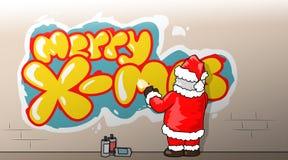 Navidad-aerosol-él imagen de archivo libre de regalías