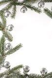 Navidad-Bolas Imagenes de archivo