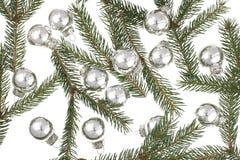 Navidad-Bolas Foto de archivo libre de regalías