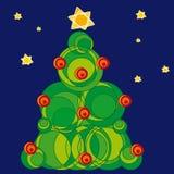 Navidad de Arbol (vector) Foto de archivo