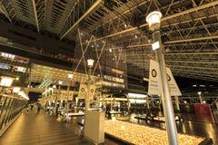Navidad de la CIUDAD de la ESTACIÓN de OSAKA Imágenes de archivo libres de regalías