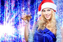 Navidad de la sonrisa Imagen de archivo