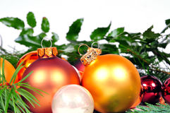 Navidad de las bolas de la Navidad Foto de archivo