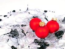 Navidad de las bolas de la Navidad Imágenes de archivo libres de regalías