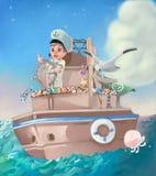 Navigação ilustração stock