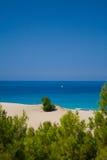 Navigação ao paraíso. Foto de Stock Royalty Free
