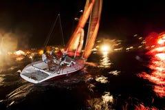 Navigação da meia-noite foto de stock royalty free