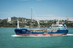 Navigação de Awanuia do petroleiro de Seafuel no mar Imagens de Stock Royalty Free