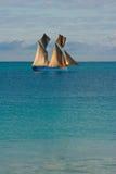 Navigação do Dhow Fotografia de Stock Royalty Free