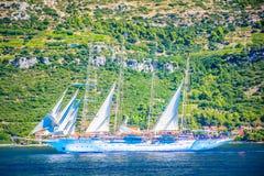 Navigação em Croatia Fotos de Stock