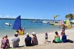 Navigação em Gold Coast Queensland Austrália Imagem de Stock