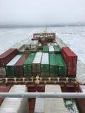 Navigação no gelo foto de stock royalty free