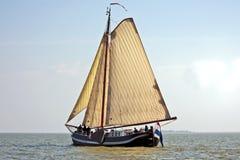 Navigação no IJsselmeer nos Países Baixos fotografia de stock