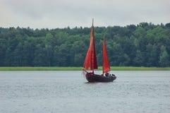 Navigação no lago Fotos de Stock