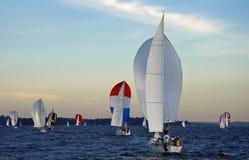 Navigação no lago Washington Imagens de Stock