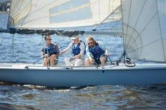 Navigação no mar fotografia de stock royalty free