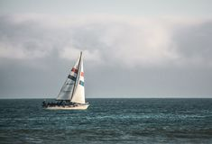 Navigação no oceano Foto de Stock