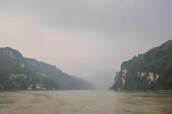 Navigação no Rio Yangtzé Fotografia de Stock