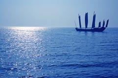 Navigação típica do navio do chinês Imagem de Stock