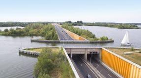 Navigable aqueduct Royalty Free Stock Images