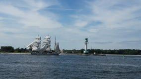 Navigando alla settimana di Kieler immagini stock