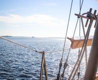 Navigando attraverso Carolina Waters del sud Fotografia Stock Libera da Diritti