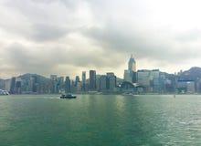 Navigando a Hong Kong Island Immagini Stock Libere da Diritti