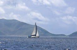 Navigando nei tropici Fotografia Stock Libera da Diritti