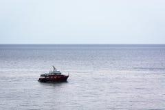 Navigando nella calma Fotografia Stock