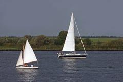 Navigando in Olanda Fotografie Stock