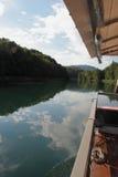 Navigando su Adda River Immagine Stock Libera da Diritti