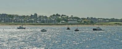 Navigando sul Mare del Nord in Scozia Fotografie Stock Libere da Diritti