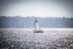 Navigando sulla costa ovest Fotografia Stock Libera da Diritti