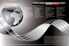 Navigare Plan Stockfotografie