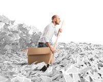 Navigate the bureaucracy stock photo