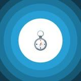 Navigateur d'isolement Flat Icon d'aimant L'élément de vecteur de direction peut être employé pour la direction, aimant, navigate Photos stock