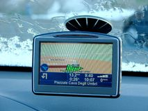 Navigateur de GPS Photos stock