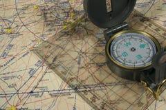 Navigatie Stock Afbeelding
