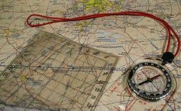 Navigatie Stock Foto's