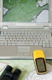 Navigatie en Exploratie Stock Foto