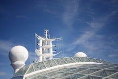 Navigatie en telecommunicatie stock afbeeldingen